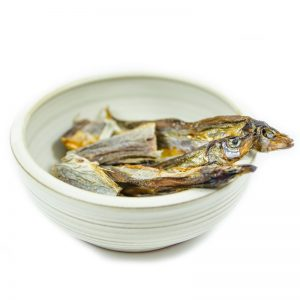 Sušené ryby pre psov
