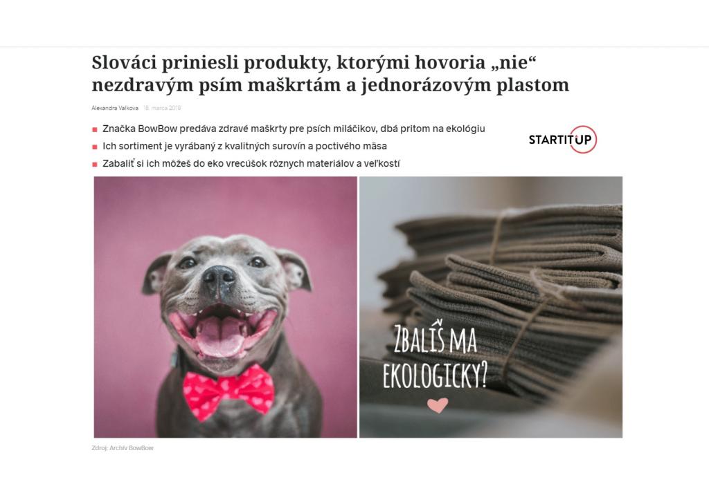 Článok o nás od Startitup.sk